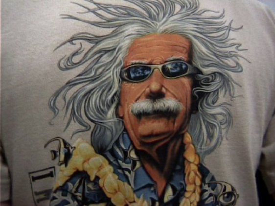 There's no being more iconic than ending up on a t-shirt. By the way, if you happen to know where I could find this specific one, please let me know: I have been looking for it for almost 20 years now!